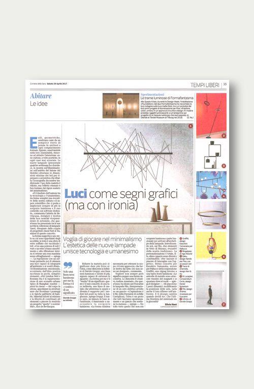 Corriere della Sera, 29 Aprile 2017