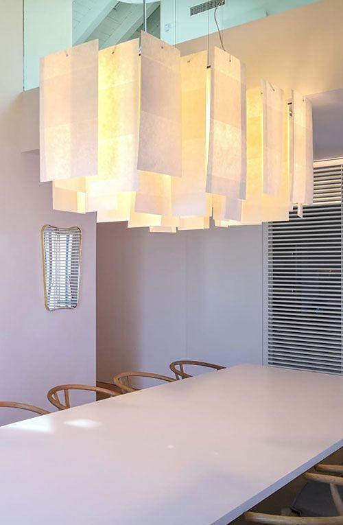 Alexandra long lamp in private residence