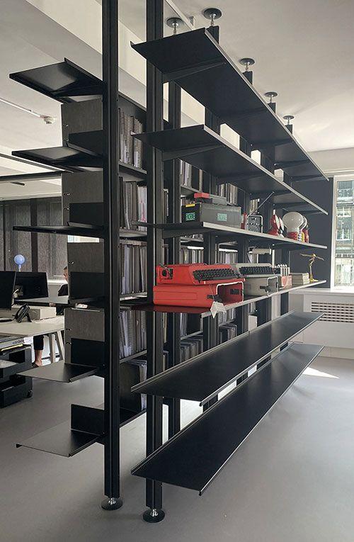 Continua bookcase in private office