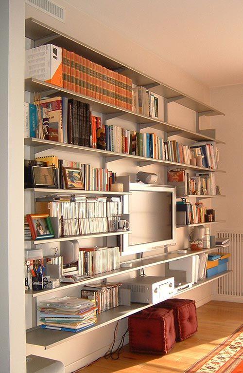 Continua bookcase in private residence