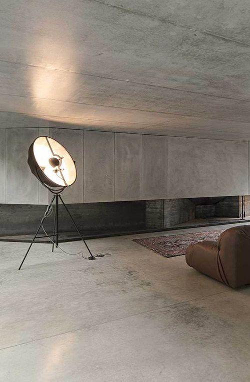 Fortuny lamp in house in Caniçada