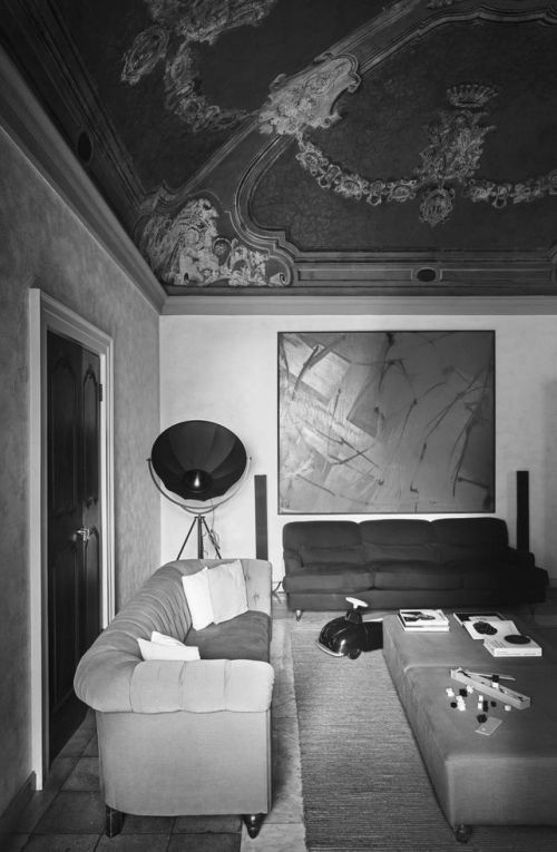 Fortuny lamp in a private residence