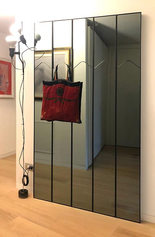 LaGronda mirror and coat hanger in private residence