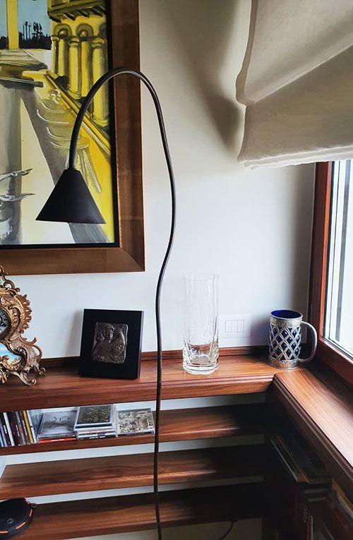 Papiro lamp in private residence