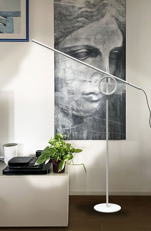 Tangent Media lamp in private residence